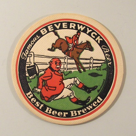 "Famous Beverwyck Beer Best Brewed Beer 4"" Steeplechase 4 Beer"