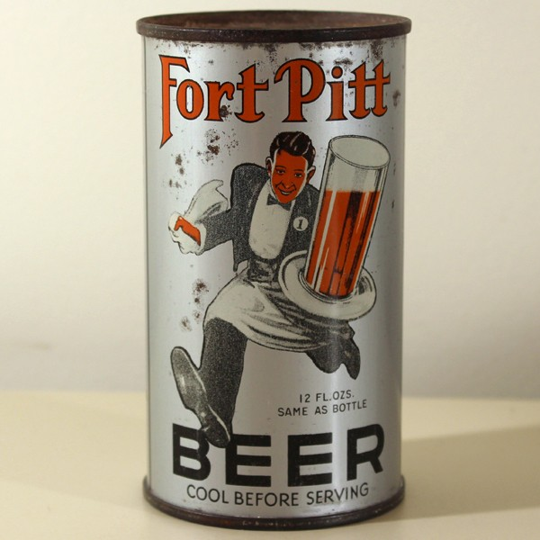 Fort Pitt Beer Running Waiter 284 Beer