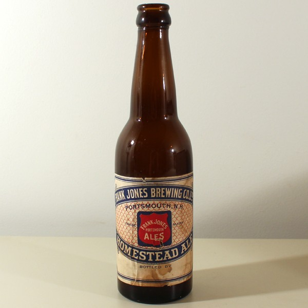Frank Jones Homestead Ale Pre-Prohibition Beer