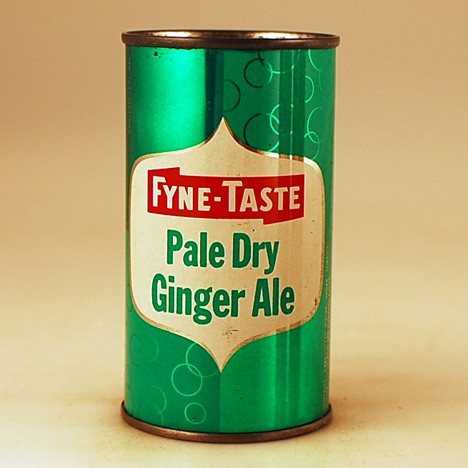 Fyne-Taste Ginger Ale Flat Top Beer
