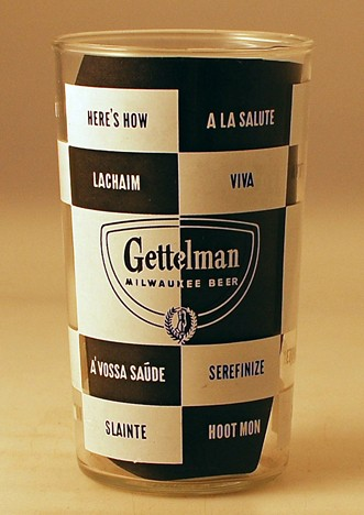 Gettelman Multilingual Cheeers Beer