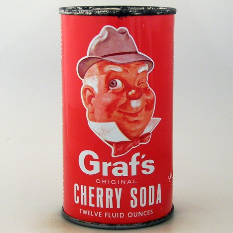 Graf's Cherry Soda Beer