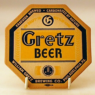Gretz Kraeusen Brewed Coaster Beer