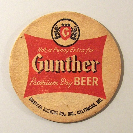Gunther - Not A Penny Extra Beer