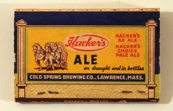 Hacker's Ale Matches Beer