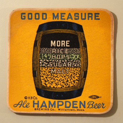 Hampden Ale - Good Measure - Inside Barrel Beer