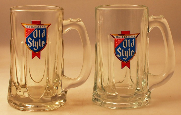 Heileman's Old Style Mug Set Beer