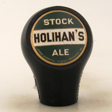Holihan's Stock Ale Ball Knob Beer