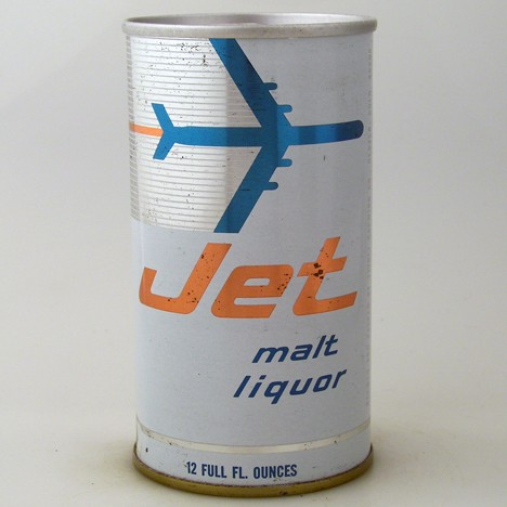 Jet Malt Liquor 083-20 Beer