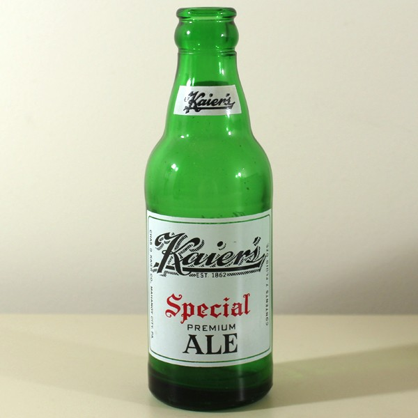 Kaier's Special Premium Ale ACL Beer