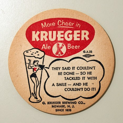 "Krueger - More Cheer - ""They Said It Couldn't Be Done..."" Beer"