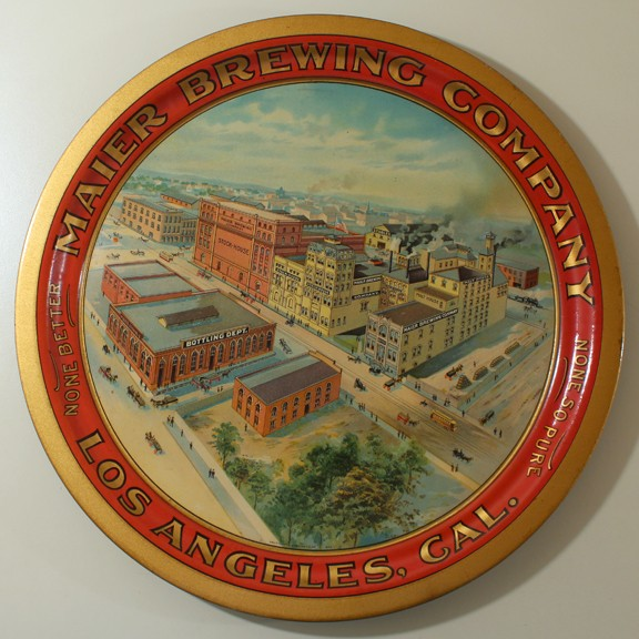 Maier Brewing Co. - Round Factory Tray Beer