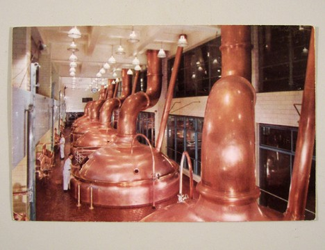 Miller Brewing Company Kettles Post Card Beer
