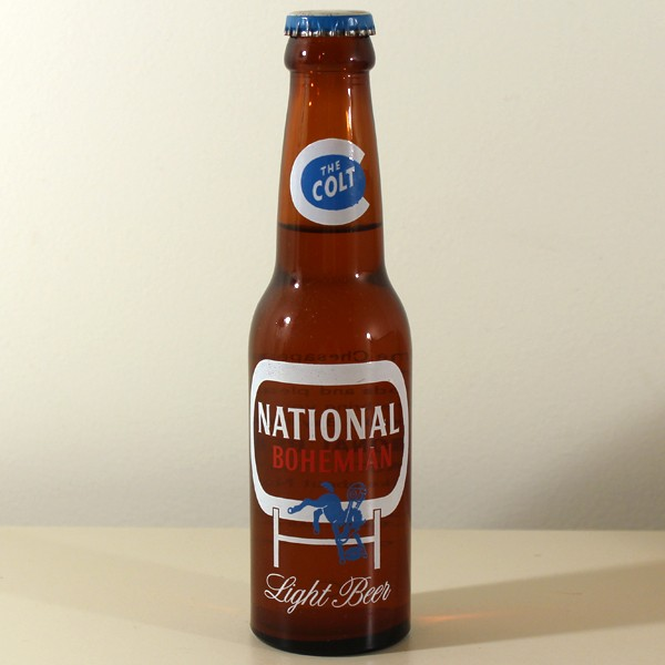 "National Bohemian Light Beer (Small ""Colt"") ACL Beer"