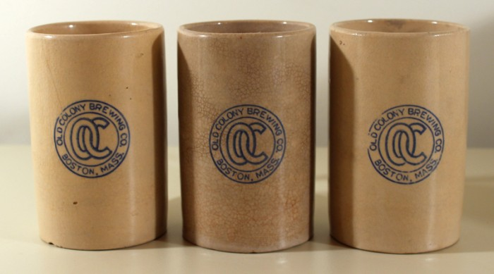 Old Colony Stoneware Mugs (Set of 3) Beer