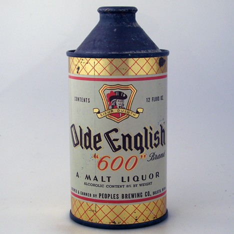 Old English '600' Malt Liquor 178-12 Beer