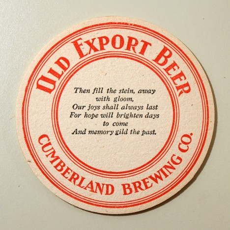 "Old Export Beer - ""Then Fill The Stein..."" Beer"