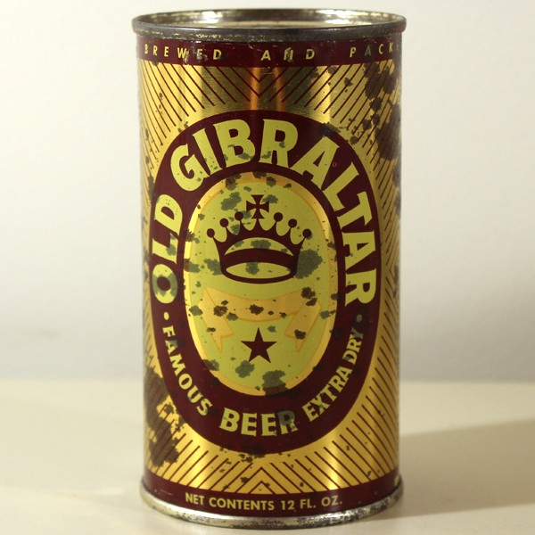 Old Gibraltar Famous Extra Dry Beer 106-40 Beer