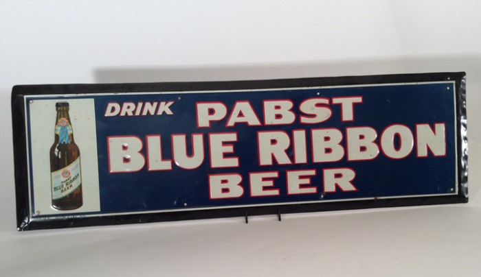 PBR Bottle Tin Sign Beer