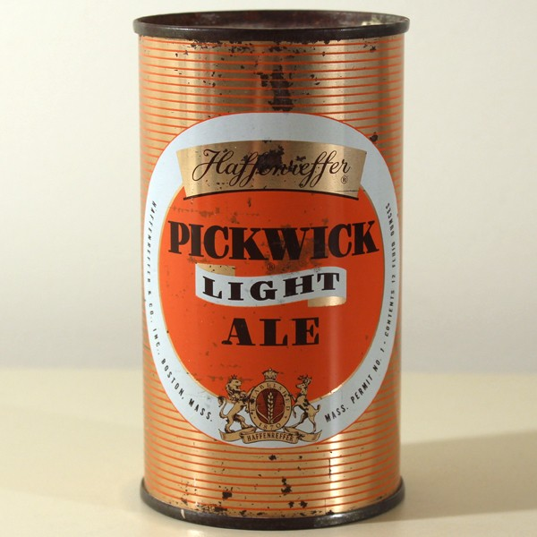Pickwick Light Ale 115-01 Beer