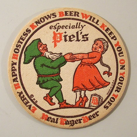 "Piel's - ""Every Happy Hostess Knows..."" Beer"