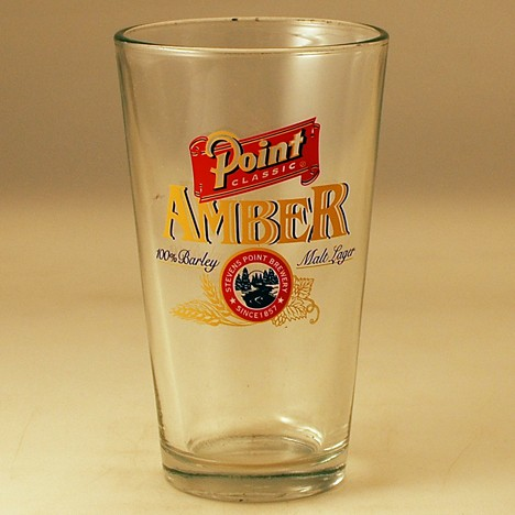 Point Classic Amber Glass Beer