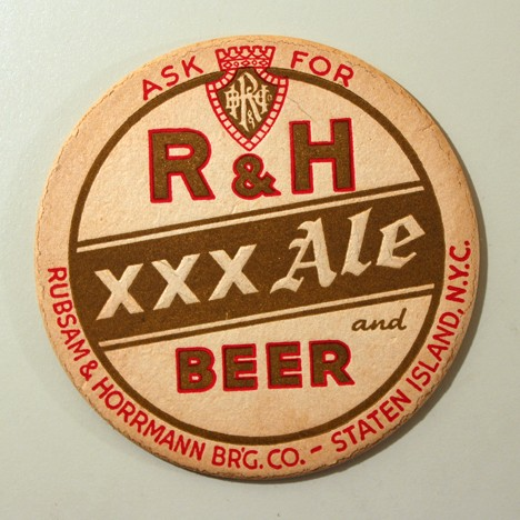 R&H XXX Ale And Beer w/o Red Trim Beer