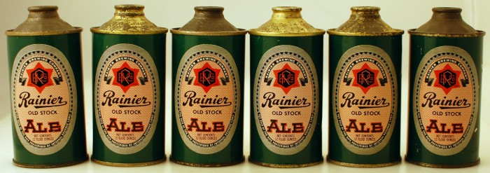 Rainier Old Stock Ale 180-04 Find! Beer
