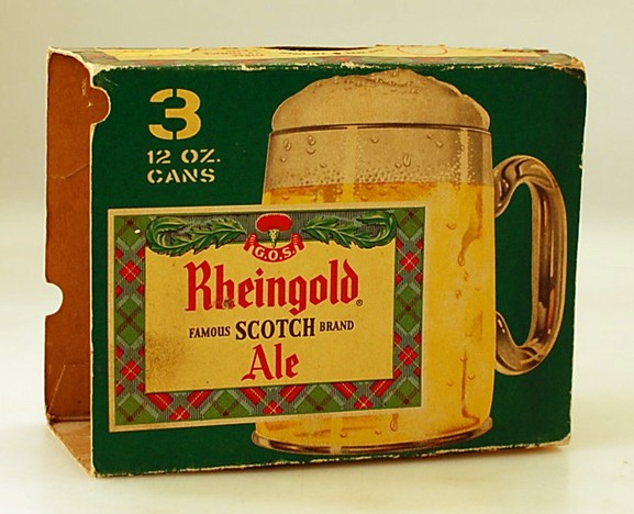 Rheingold Scotch Ale Carton Beer