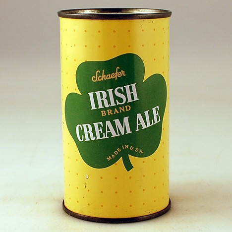 Schaefer Irish Brand Cream Ale 127-25 Beer