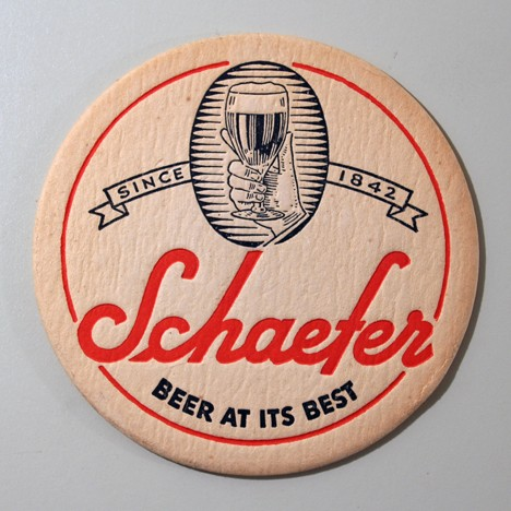 "Schaefer - ""Beer At Its Best"" Beer"