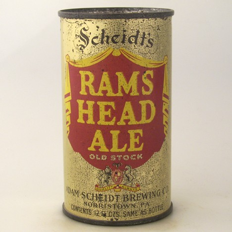 Scheidt's Rams Head Ale 712 Beer