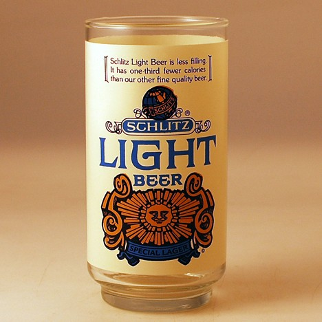 Schlitz Light Special Lager Beer
