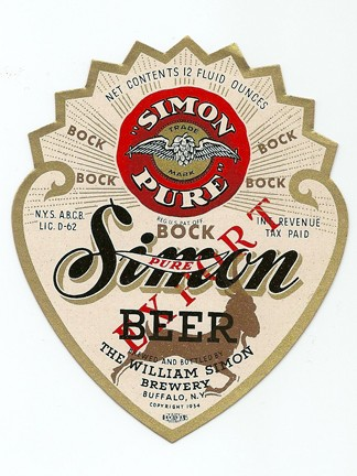 Simon Pure Export Bock Beer Beer