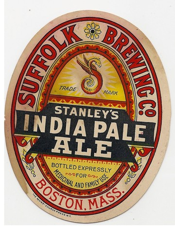 Stanley's India Pale Ale Beer