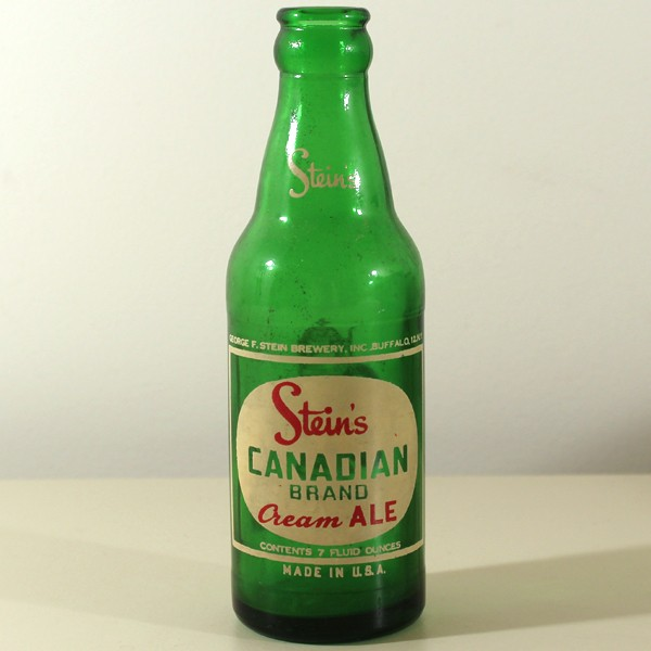 Stein's Canadian Brand Cream Ale ACL Beer