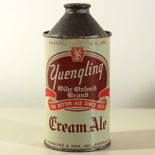 Yuengling Olde Oxford Brand Cream Ale 189-23 Beer