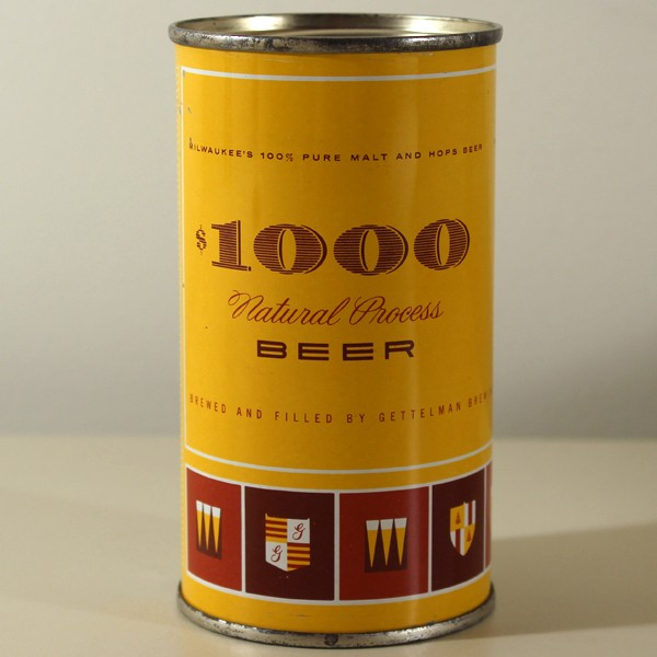 $1000 Natural Process Beer 109-13 Beer