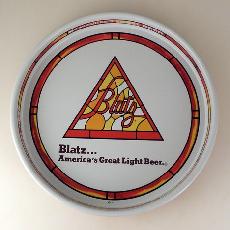 Blatz Stained Glass Beer