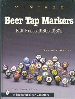 Vintage Beer Tap Markers Book Beer