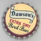Dawson's Extra Dry Bock Beer