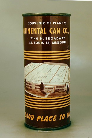 Continental Can Company Factory NL Beer