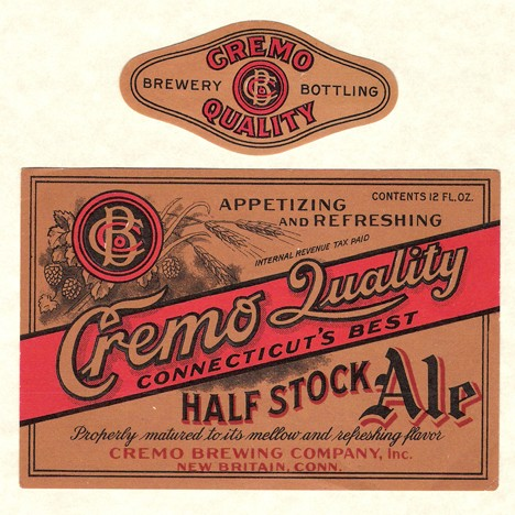 Cremo Quality Half Stock Ale Beer