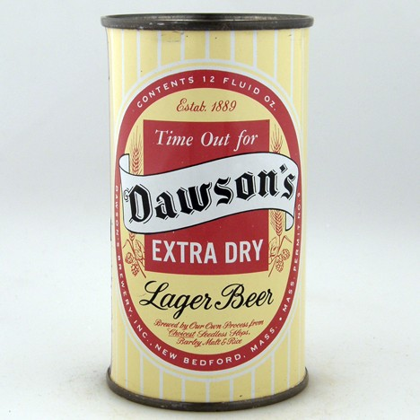 Dawson's Extra Dry Lager 053-18 Beer