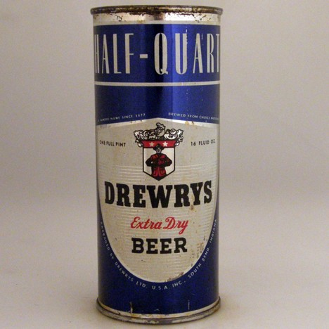 Drewrys Extra Dry Blue 228-09 Beer