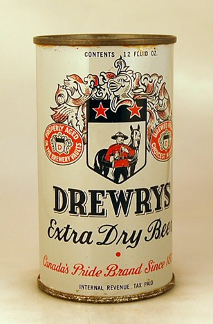 Drewrys Dull Gray 204 Beer