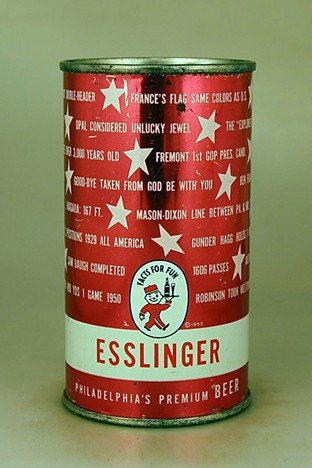 Esslinger's Fun Facts Red L-060-28 Beer