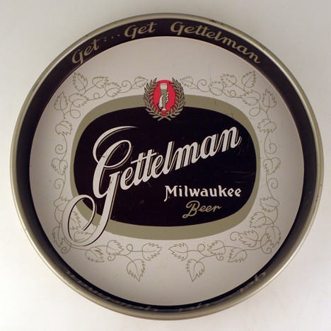 Gettelman Milwaukee Hops Leaves Beer