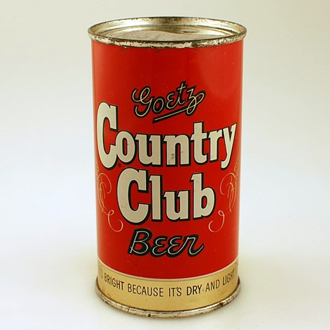 Goetz Country Club Beer 051-32 Beer