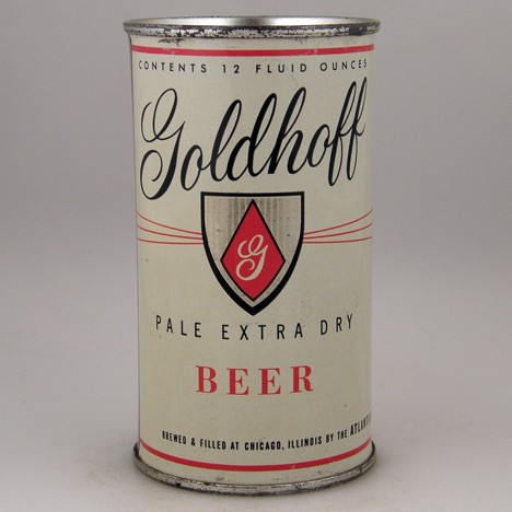 Goldhoff Pale Extra Dry 071-39 Beer